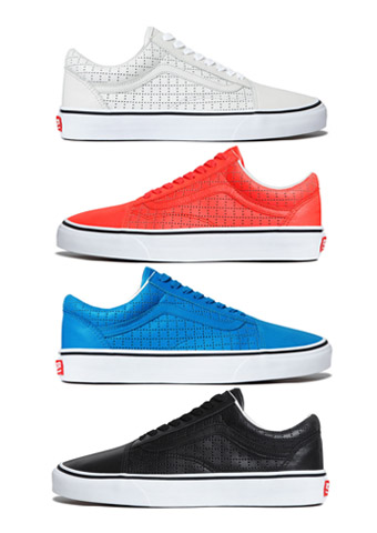 """8495ae159844bc SUPREME X VANS OLD SKOOL """"PERFORATED LEATHER"""" PACK FOR SUMMER 2015 ..."""