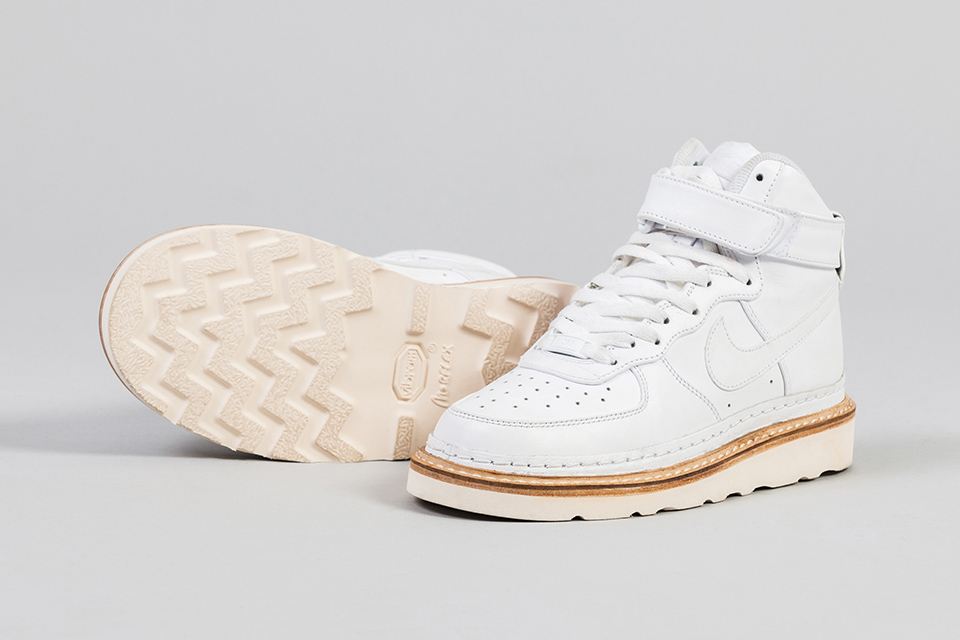online store 3a8c2 e59f7 Highsnobiety X PLAN 8 X CLOTHSURGEON PRESENT THE NIKE HIKE FORCE 1 HIGH  MASHUP